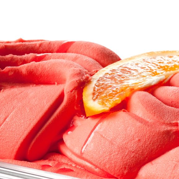 bloedsinaasappel sorbet